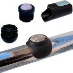 Gleiter für Stahlrohrmöbel