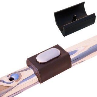 PTFE Klemmschalengleiter 192041 Teflongleiter als Bodenschoner zum Klipsen mit Pin fuer Stahlrohrstühle Freischwinger Stuhl