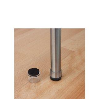 Filzkappe 182606 Filzgleiter für runde Rohre |Fußkappe für Stahlrohrstühle auf Parkett