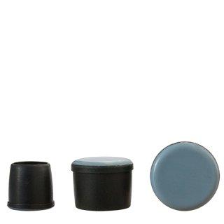 Teflonfußkappe HM19260 Teflongleiter * für runde Stuhlbeine | Stuhlkappen für Holzstühle