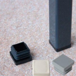 Quadratischer Gartenmöbel Fußstopfen GM10271 Kunststoff Stuhlbein Stopfen für Gartenstühle