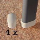 Fußkappen Set für Acamp Gartenstühle mit...