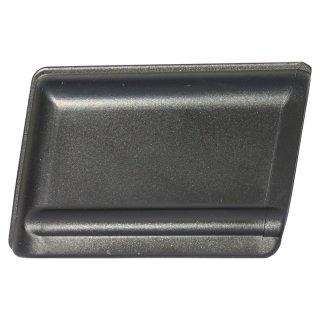 Kunststoff Kappe oval 101031 Fußkappe für Stahlrohrstühle mit flach Ovalrohr - Stuhlgleiter - Tischgleiter