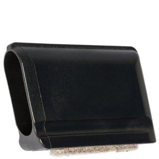 Filzgleiter Kappe oval 181031 Filz Fußkappe für Stahlrohrstühle mit flach Ovalrohr - Stuhlgleiter - Tischgleiter
